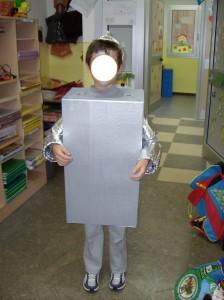 Uomo di latta costume